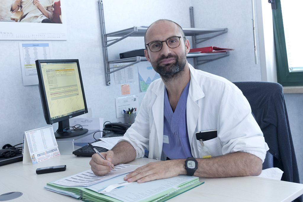 Dott. Giuliano Barugola chirurgo Ospedale Sacro Cuore di Negrar